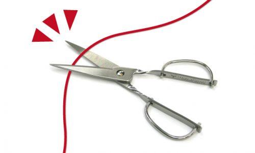 愛・物・縁切り赤い糸とハサミkiri