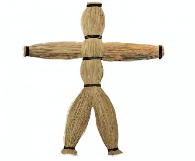 A straw figure