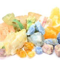various nature stones