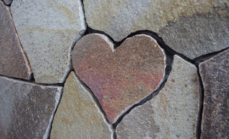 石・愛Heart Wall