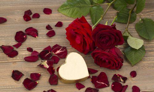 自然・愛・バラとハートroses