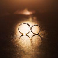 愛・結婚指輪Two wedding rings