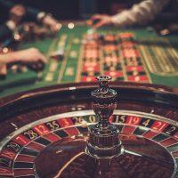 物・現象・ルーレット、ギャンブルGambling table in luxury casino