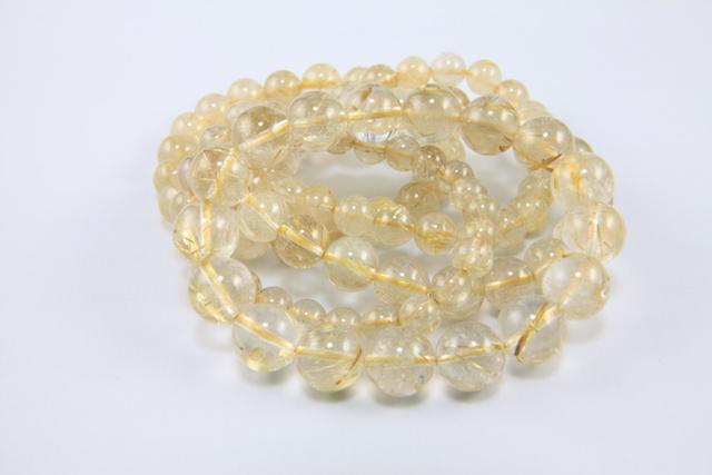 金針水晶ブレスレット群