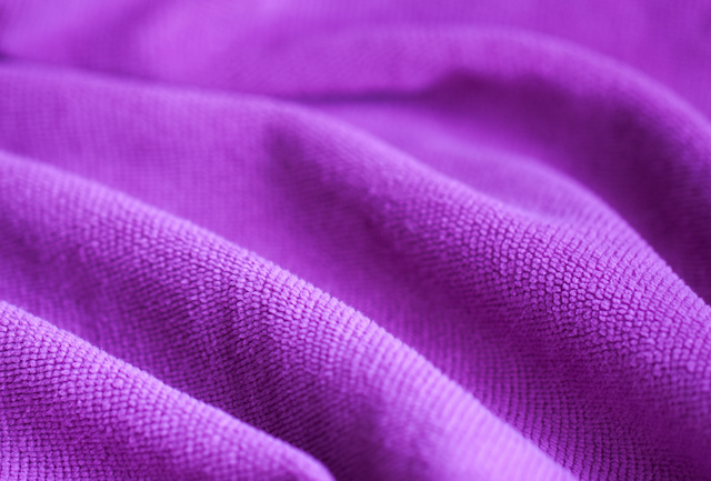 Soft velvet texture