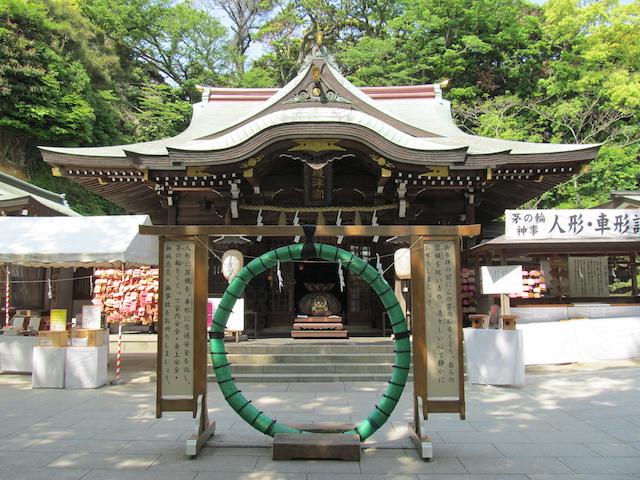 江の島の神社