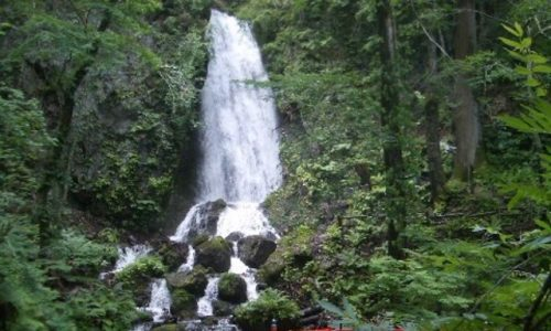 自然・滝fall