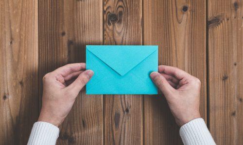 物・手紙、封筒