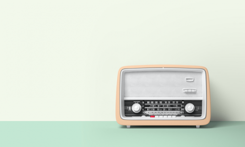 物・ラジオ