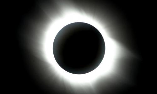 自然・新月、日食new moon