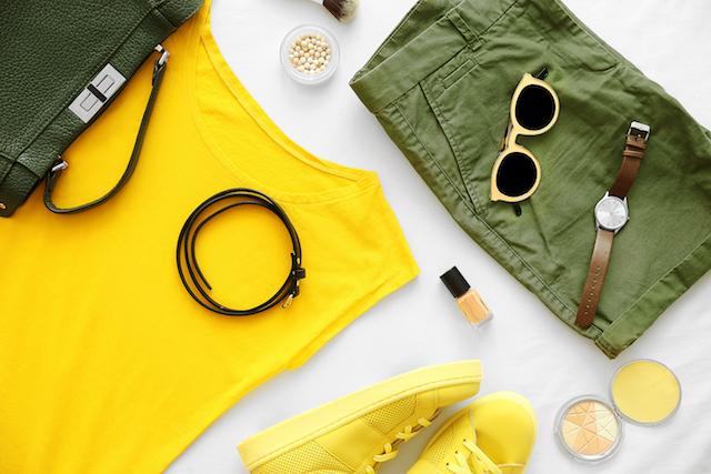 黄色いグッズ