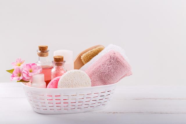 ピンク お風呂