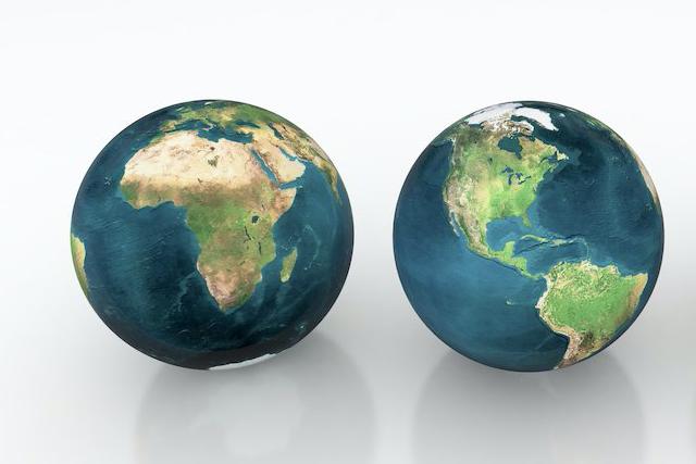 2つの地球