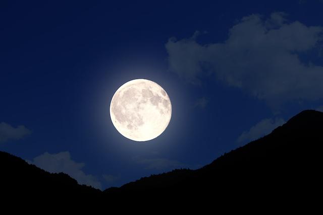 月明かりの力