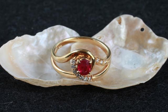 ルビー 指輪