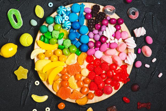 七色 お菓子
