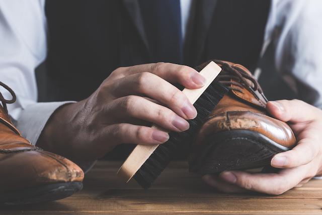 靴 ブラシ