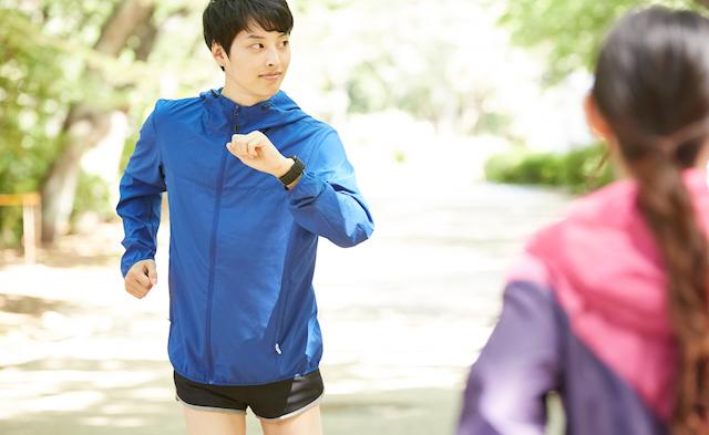 ジョギング運動