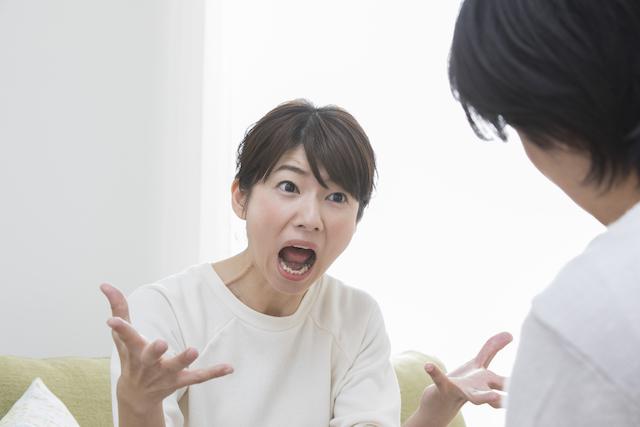 感情の起伏が激しい女性