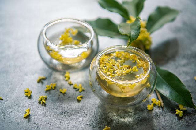 金木犀の花 お茶