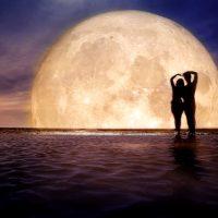 月 カップル