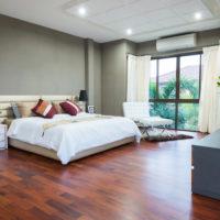 綺麗な寝室