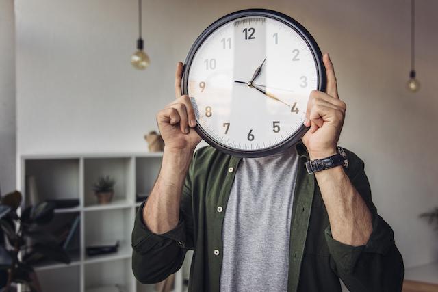丸型の時計