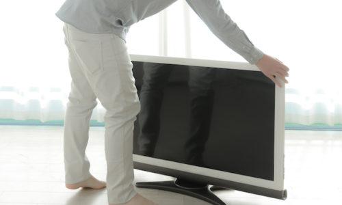 テレビの移動