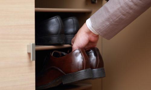 靴を仕舞う