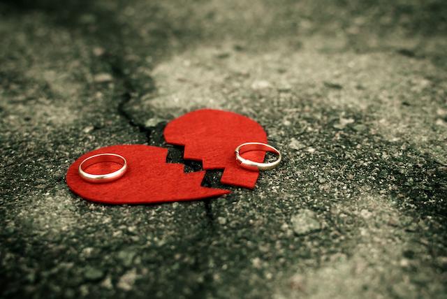 夫婦の別れ