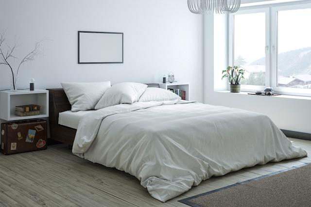 ベッドの位置