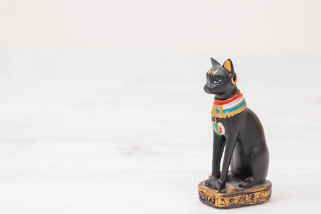 黒猫の女神