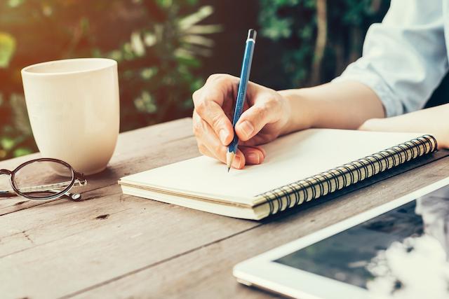 ノートを書く