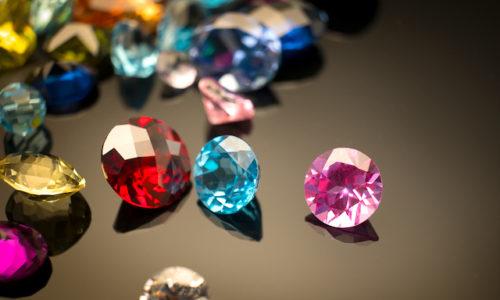 カラフルな宝石