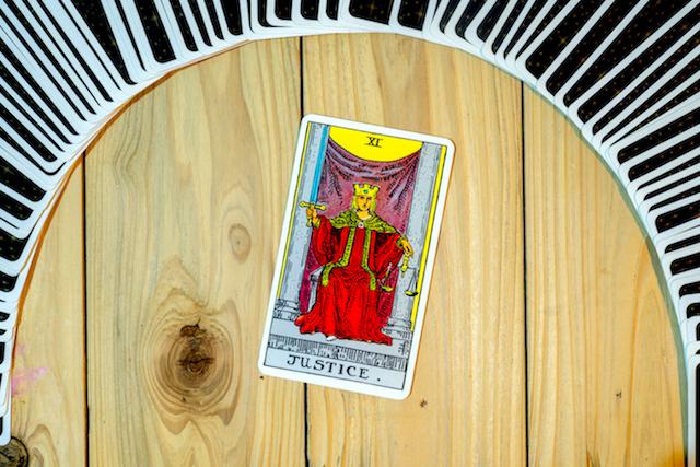 正義のカード