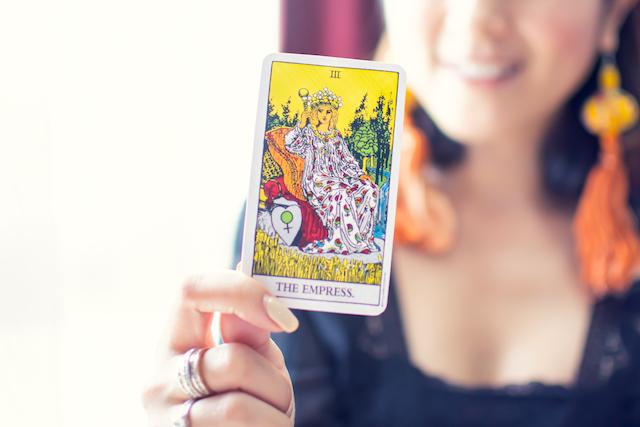 女帝のカード