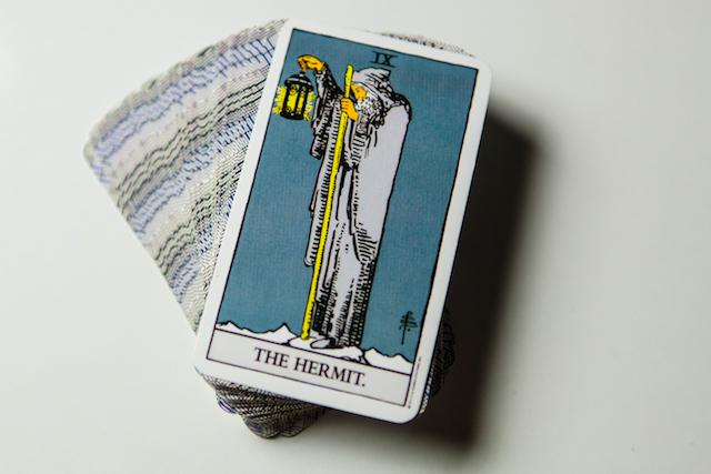 隠者のカード