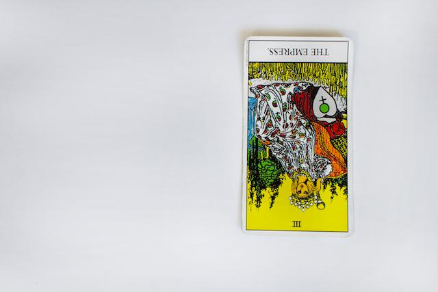 逆位置のカード