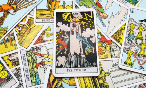 塔のカード正位置